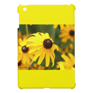 Yellow Cone Flowers iPad Mini Case