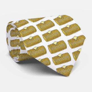 Yellow Corn on the Cob Picnic Food Corncob Tie
