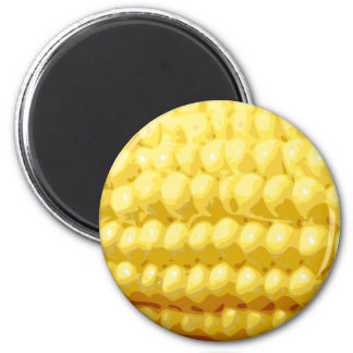 Yellow Corn on the Cob Texture Magnet
