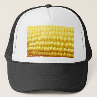 Yellow Corn on the Cob Texture Trucker Hat