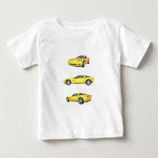 Yellow Corvette: Baby T-Shirt
