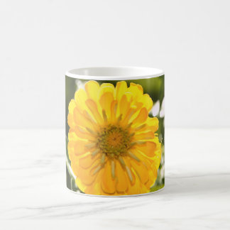 Yellow cosmo coffee mug