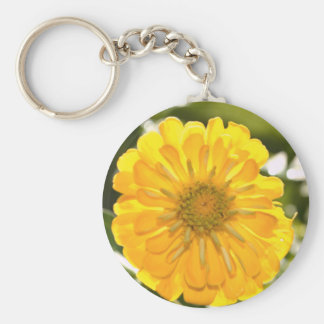 Yellow cosmo key ring