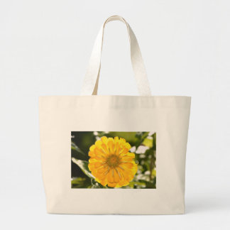 Yellow cosmo large tote bag