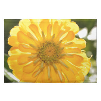 Yellow cosmo placemat