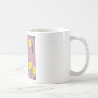 Yellow Crocus Flowers Coffee Mug