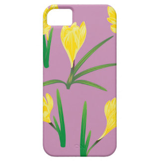Yellow Crocus Flowers iPhone 5 Cover