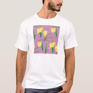Yellow Crocus Flowers T-Shirt
