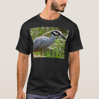 Yellow Crown Night Heron T-Shirt
