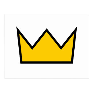 Yellow Crown Postcard
