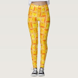 Yellow Cupcake♥ Leggings