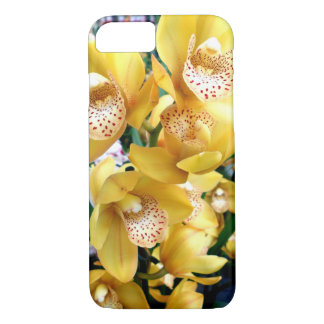 Yellow Cymbidium Orchids iPhone 8/7 Case