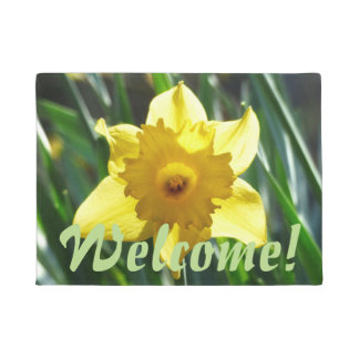 Yellow Daffodil 02.0 Doormat
