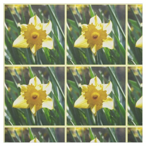 Yellow Daffodil 02.0 Fabric