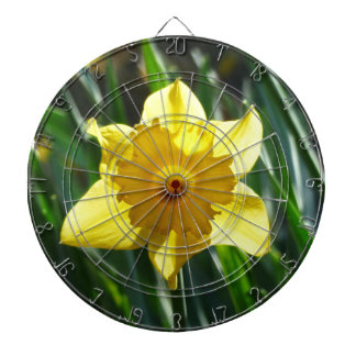 Yellow Daffodil 02.2_rd Dartboard