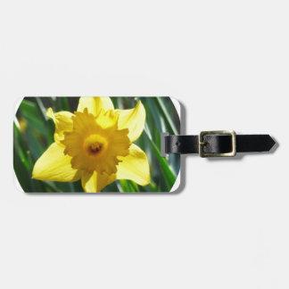 Yellow Daffodil 02.2_rd Luggage Tag