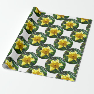 Yellow Daffodil 02.2_rd Wrapping Paper