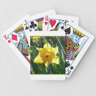 Yellow Daffodil 03.0.g Bicycle Playing Cards