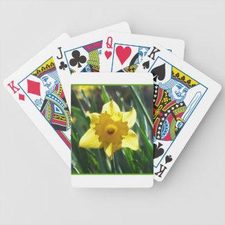 Yellow Daffodil 03.0.g Poker Deck