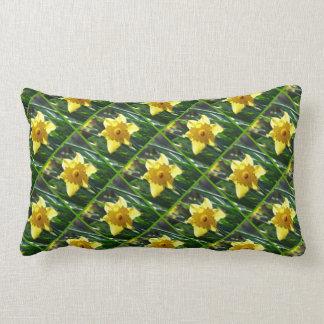Yellow Daffodil 03.6.45.g Lumbar Cushion