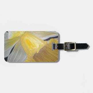 Yellow Daffodil Luggage Tag