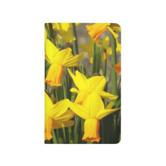 Yellow Daffodils Floral Journal