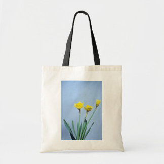 yellow Daffodils flowers Tote Bags