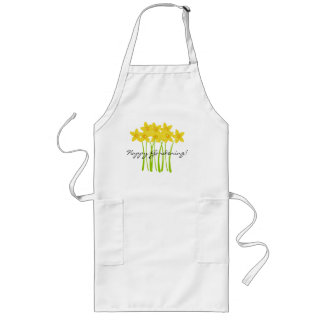 Yellow Daffodils Happy Gardening Apron