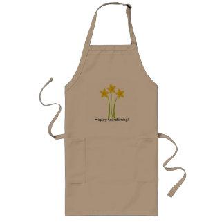 Yellow Daffodils Happy Gardening Apron