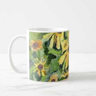 Yellow Daisies Art Mug
