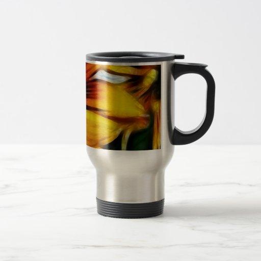Yellow Daisies Autumn Sunflowers Flowers Art Mug