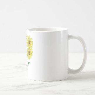 Yellow Daisies Clipart Mugs