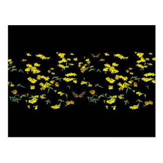 Yellow Daisies Postcard