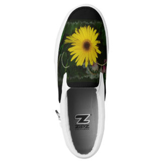 Yellow Daisies Printed Shoes