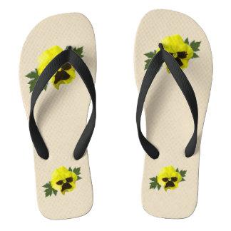 Yellow Daisies Thongs