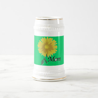Yellow Daisy - Beer Steins