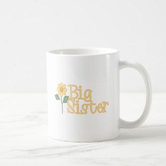 Yellow Daisy Big Sister Coffee Mug