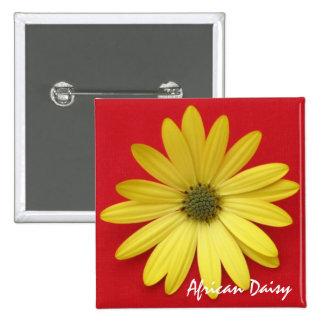 Yellow Daisy Button/Pin
