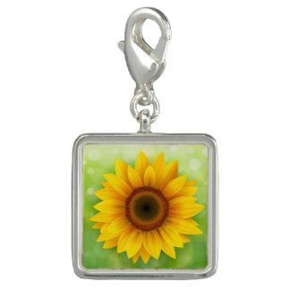 Yellow Daisy Charm
