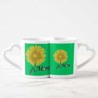Yellow Daisy - Couples Mug