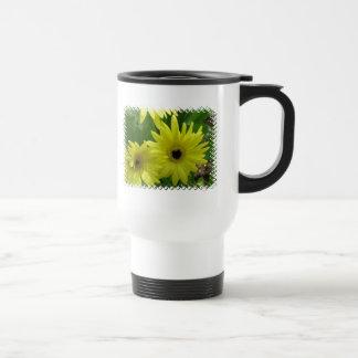 Yellow Daisy Festival Plastic Travel Mug