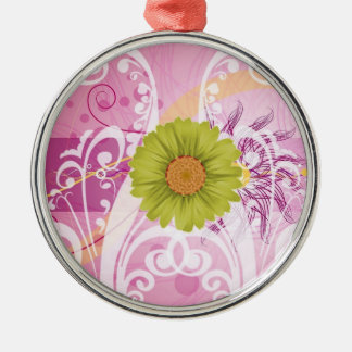 Yellow Daisy Flowers Pictures Design Ornament