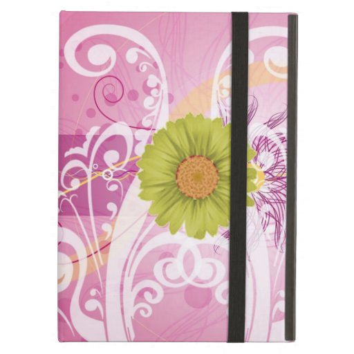 Yellow Daisy Flowers Pictures Design iPad Air Case