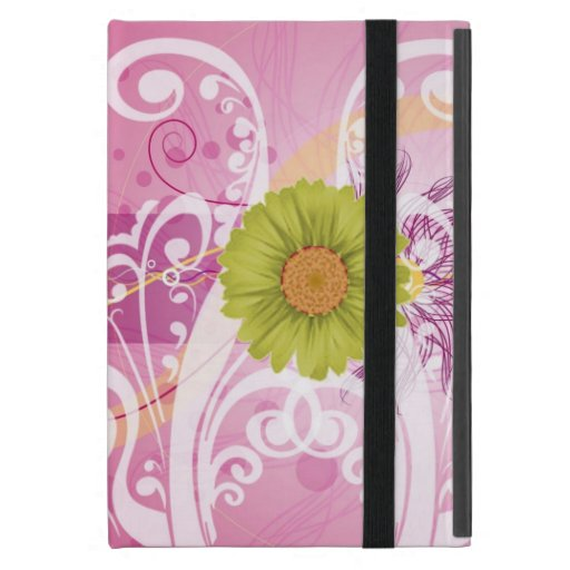 Yellow Daisy Flowers Pictures Design Cases For iPad Mini