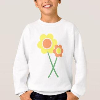 Yellow Daisy Flowers Sweatshirt
