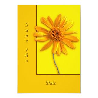 Yellow Daisy Custom Invite