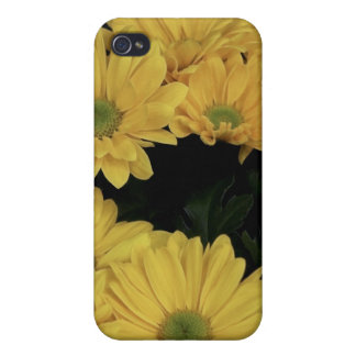 Yellow Daisy iPhone Case iPhone 4/4S Covers