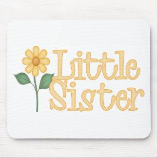 Yellow Daisy Little Sister Mousemat
