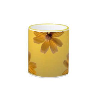 Yellow Daisy Mugs