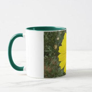 Yellow Daisy mug - choose style & color
